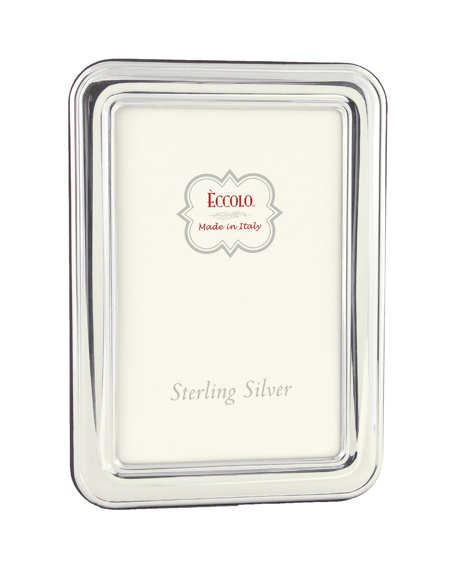 Eccolo Sterling Silver Frame, Holds 8 by 10-Inch Photo, Hyde Park
