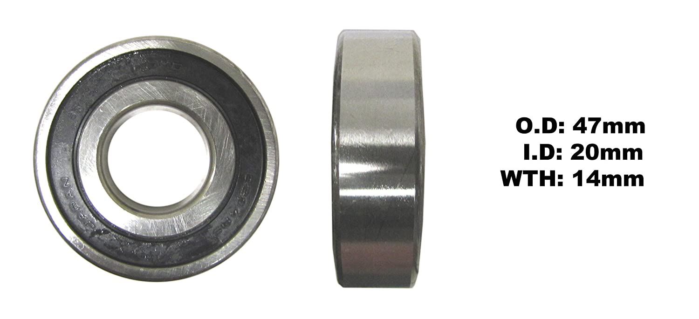 Each UK 2003-2011 Wheel Bearing Suzuki AN 650 Burgman Rear Right