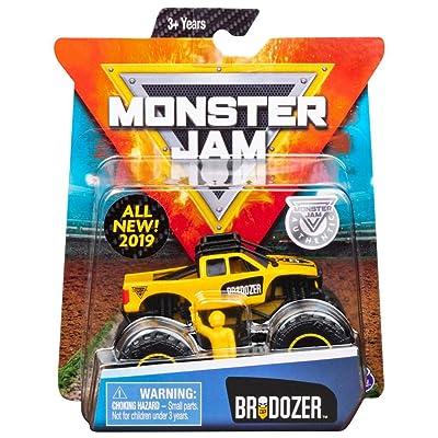 MJ 2020 SM Monster Jam Brodozer: Toys & Games