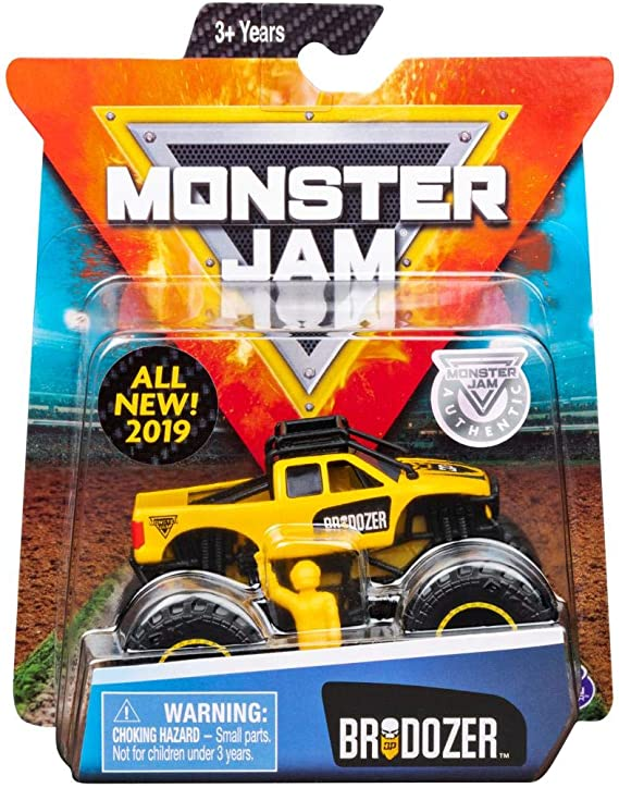 MJ 2019 SM Monster Jam Brodozer