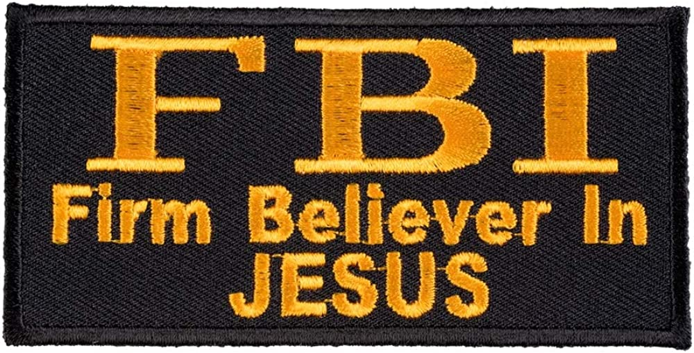 JOHN 3:16 LARGE PATCH embroidered BIBLE VERSE RELIGIOUS IRON-ON JESUS RELIGIOUS