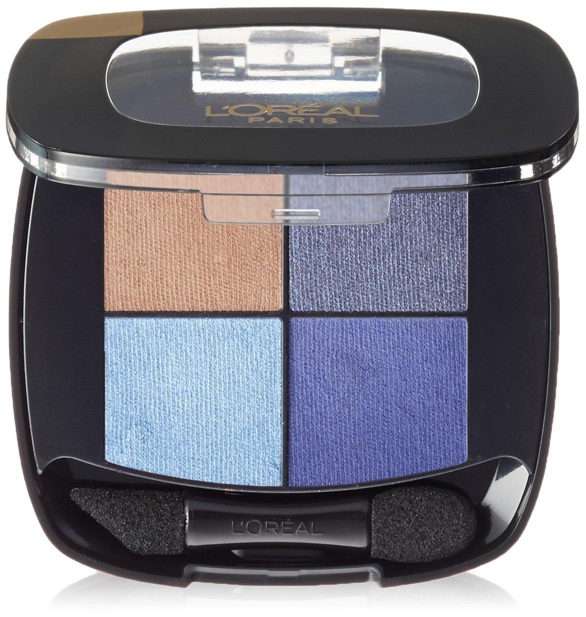 L'Oréal Paris Colour Riche Eye Pocket Palette Eye Shadow, Bleu Nuit, 0.1 oz.