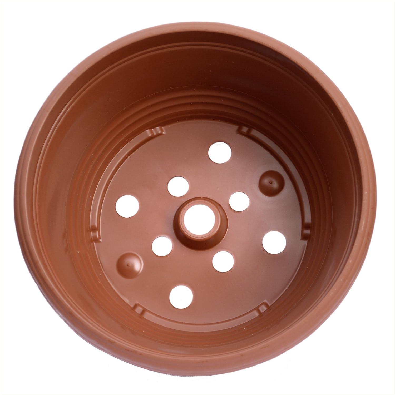 17cm Teku terracotta colour Bulb Bowls (5) Poppelmann