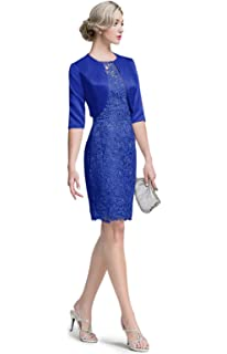 Amazon.com: FAPIZI Vestido de encaje para mujer, tamaño ...