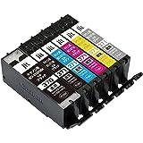 【Amazon.co.jp限定】キヤノン BCI-371+370/6MP 6色セット対応 ジットリサイクルインク JIT-NC3703716P(FFP・封筒パッケージ)