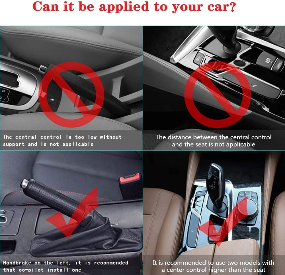 Premium PU Leather Console Side Filler Organizer Pocket for Car Accessories Interior Wallet Car Seat Gap Storage Box Seat Gap Filler with Cup Holder Holding Phone Cup Holder