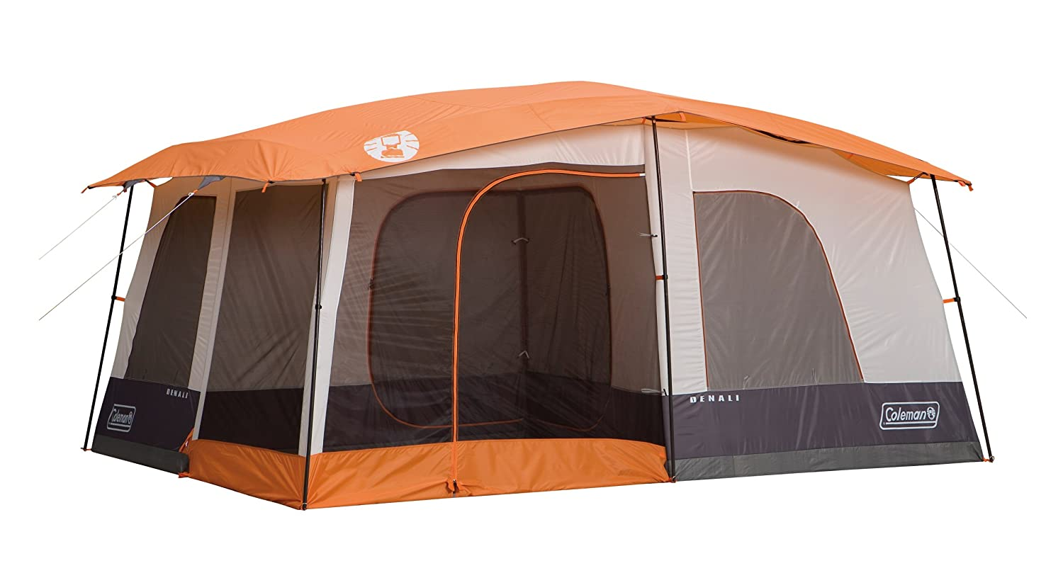 Amazon.com  Coleman Denali 14-Foot by-10-Foot 6-Person Tent  Sports u0026 Outdoors  sc 1 st  Amazon.com & Amazon.com : Coleman Denali 14-Foot by-10-Foot 6-Person Tent ...