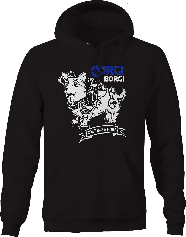 Corgi Resistance is Futile Bionic Dog Sweatshirt