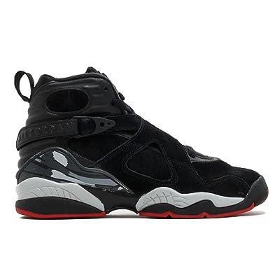 Air Jordan 8 Retro Kids BG Black/Red 305368-022 (SIZE: 6.5Y)