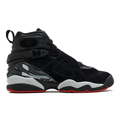 362031044bba Image Unavailable. Image not available for. Color  Air Jordan 8 Retro Kids  BG Black Red 305368-022 (Size  6.5