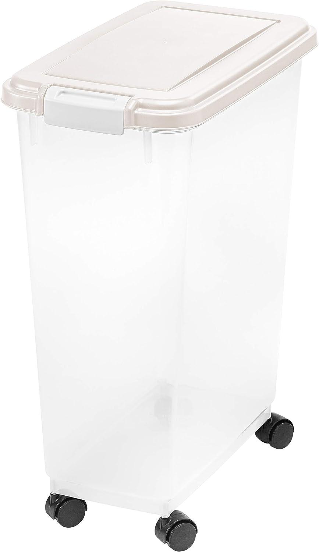 Inspired Essentials Airtight Plastic Pet Food Storage Container