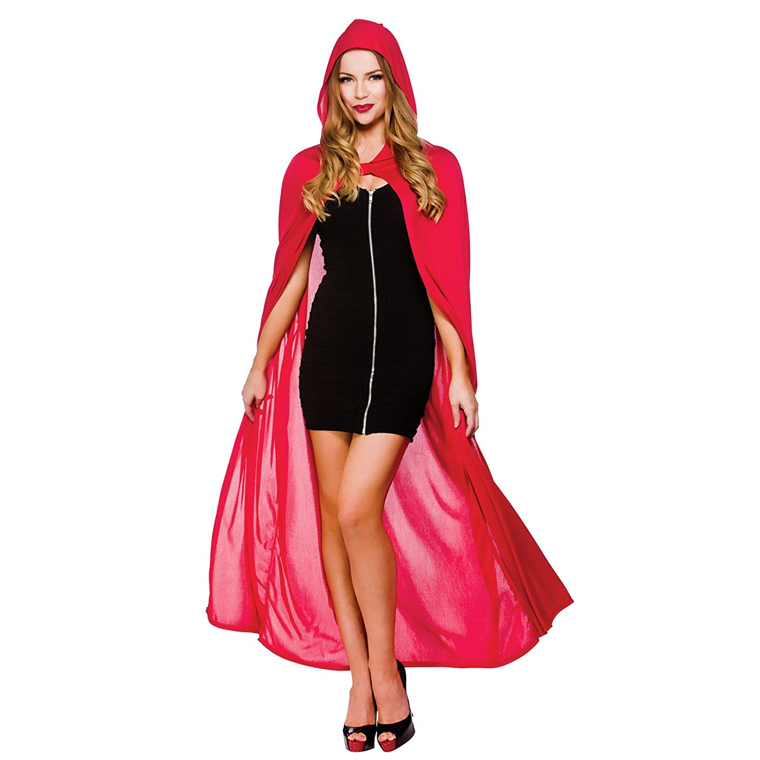 Cape w hood red 52 132cm womens vampire costumes for adult cape w hood red 52 132cm womens vampire costumes for adult ladies dracula halloween trick treat party fancy dress up outfits amazon clothing solutioingenieria Image collections