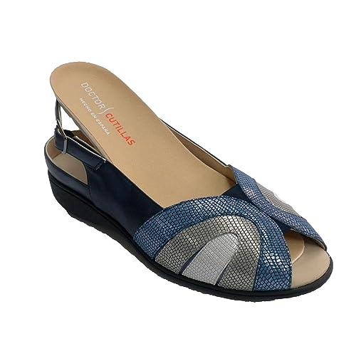 Zapatos azul marino de verano Doctor Cutillas para mujer uUiYZGjF