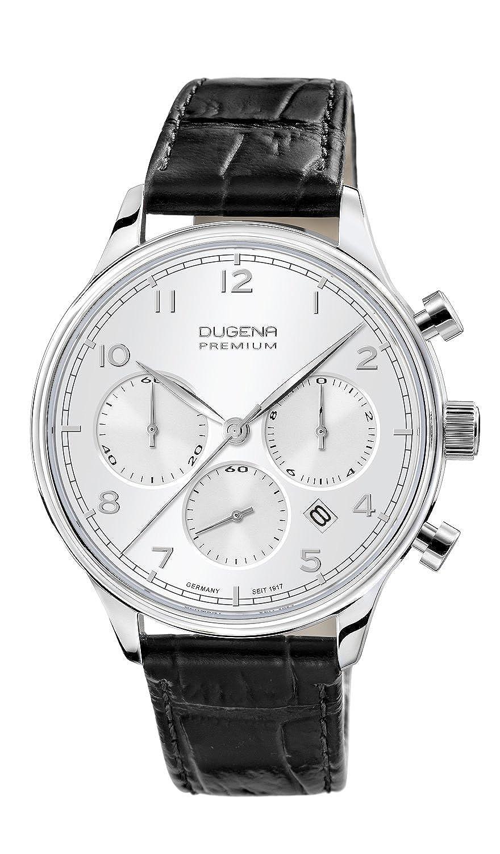 Sigma Chronograph Armbanduhr Dugena Chrono Leder Quarz Herren BtdshxQrC