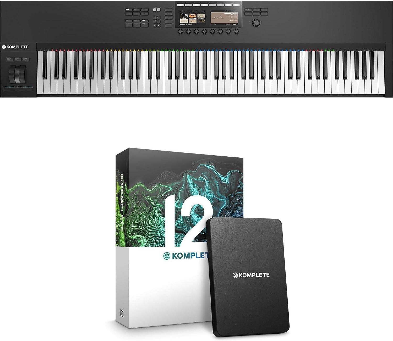Native Instruments Komplete Kontrol S88 MK2 con Komplete 12 ...