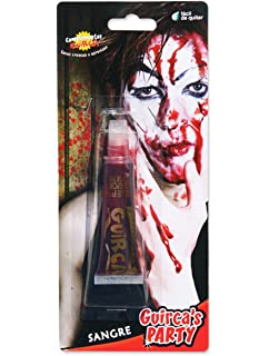 8 capsule sangue finto per trucco horror Halloween  Amazon.it ... 9c4c4369adae