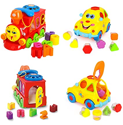 GoAppuGo Educational Musical Engine Car Combo