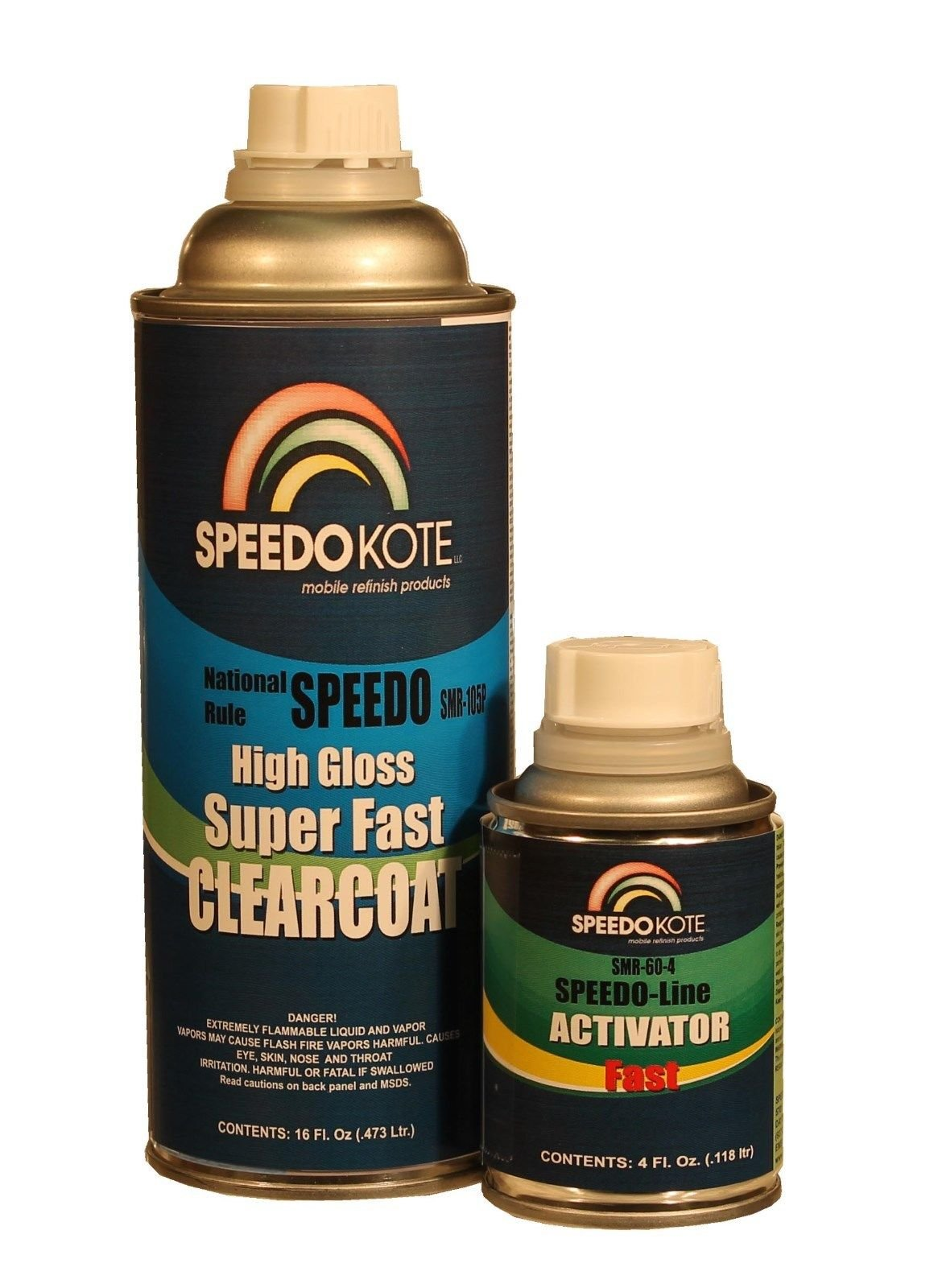 Mobile Refinish Clear Coat High Gloss Super Fast Clearcoat Pint Kit SMR-105/60-P