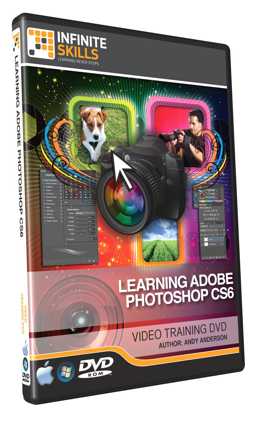 Learning Adobe Photoshop Cs6 Training Dvd - Tutorial Video 2