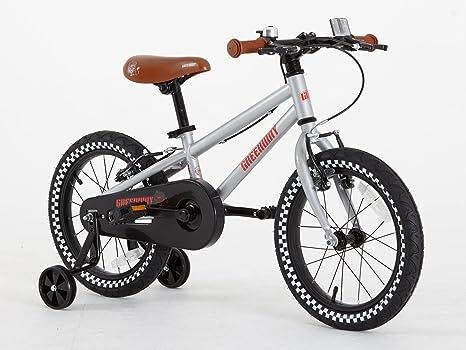 Bicicleta con ruedines de apoyo de Greenway, para niños de 3 a 6 ...