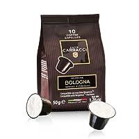 Caffè Carracci 100 Capsules Compatibles Nespresso - Bologna Intensité 9 500 g