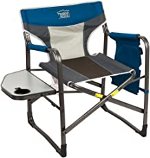 TimberRidge Directoru0027s Chair Oversize Portable Folding Support 300lbs Utility Lightweight for C&ing Breathable Mesh Back with  sc 1 st  Amazon.com & Directors Chairs | Amazon.com