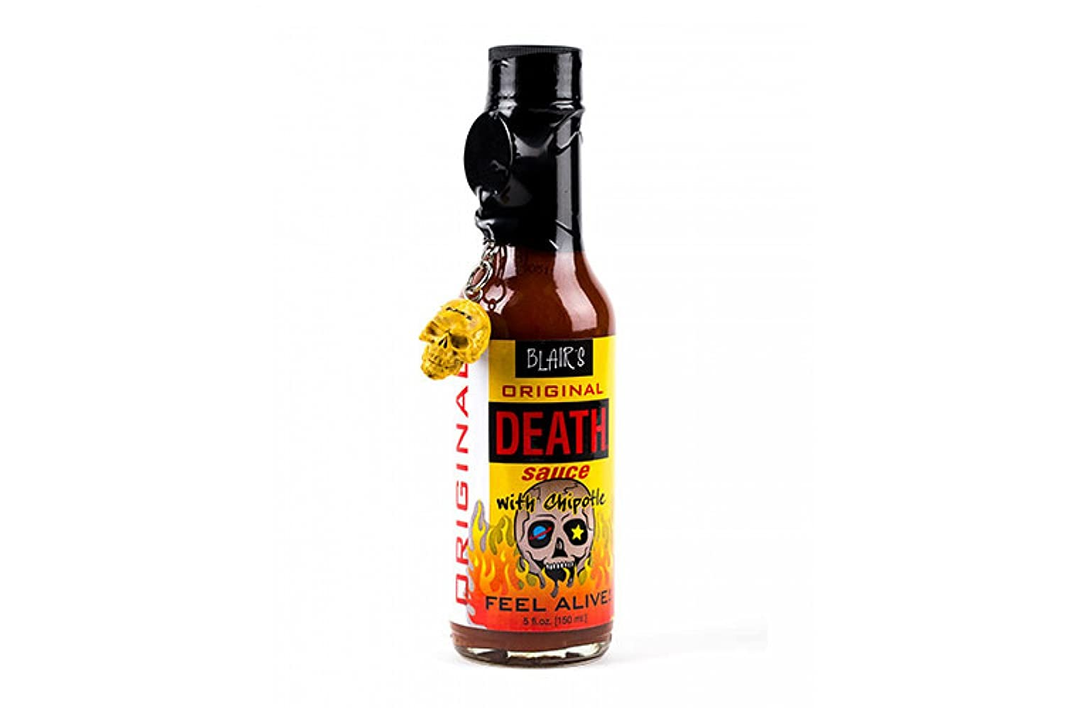 Amazon.com : Blair\'s Death Sauce with Chipotle and Skull Key Chain ...