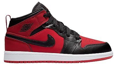 online store 206b3 5b308 Amazon.com | Nike Jordan 1 Mid (ps) Little Kids 640734-610 ...