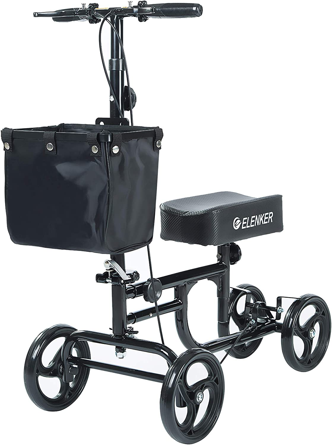 Elenker Steerable Deluxe Knee Scooter