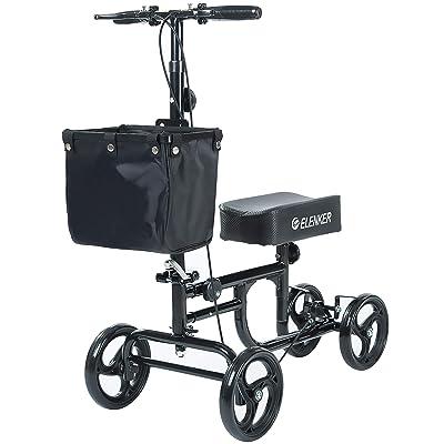 ELENKER Steerable Knee Walker Deluxe Medical Scooter