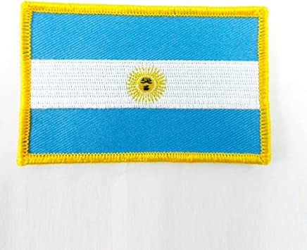 Iron On Argentina Flag Embroidery Applique Patch Sew Iron Badge