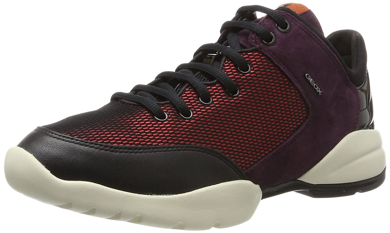 Geox D Sfinge a, Zapatillas para Mujer 40 EU Rojo (Cherry)