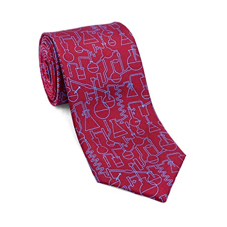 Josh Bach Men's Chemistry and Science Silk Necktie