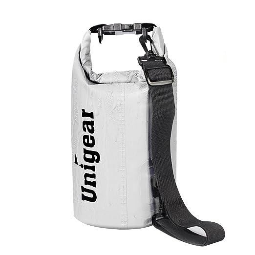 16 opinioni per Unigear Borsa Impermeabile Sacca Impermeabile Cellulare Dry Bag Marsupio 10L con