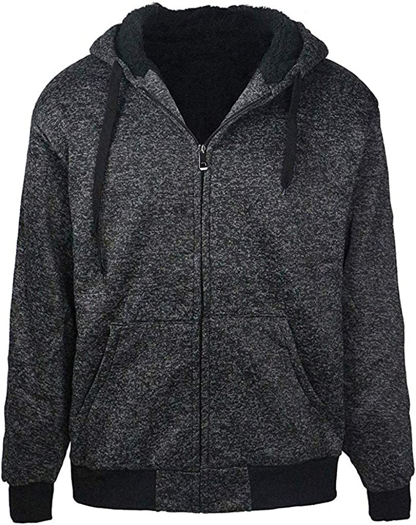 Sudadera Fleece Hoodie For Men Sherpa Lined Mens Designer Jackets ...