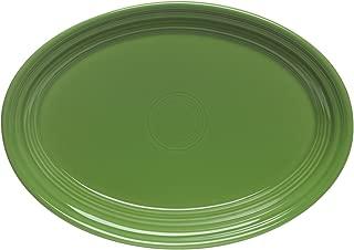 """product image for 9.5"""" Oval Platter Color: Shamrock"""