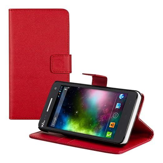 115 opinioni per kwmobile Custodia portafoglio per Wiko Rainbow 3G / 4G- Cover a libro in simil