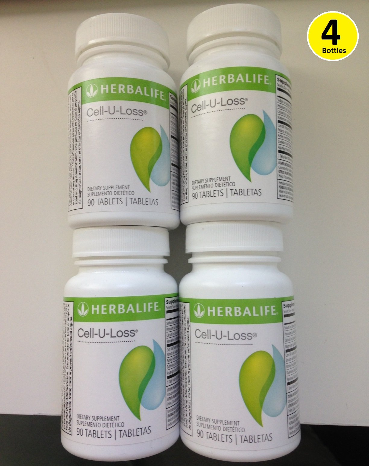 4 Herbalife Cell-u-loss for the Price of 2