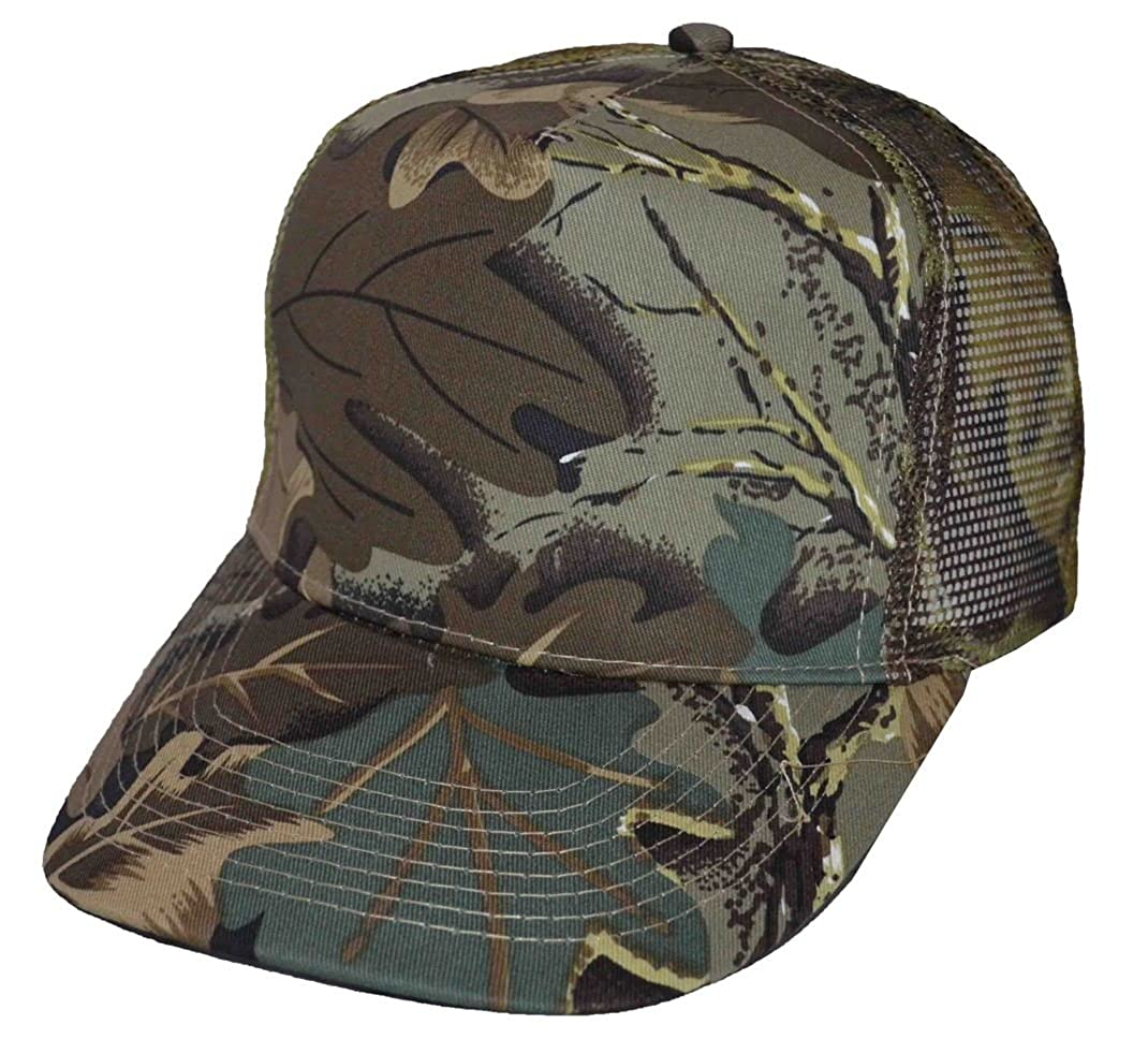NIS Camouflage Mesh Trucker Baseball Cap Olive Tree Camo at Amazon Men s  Clothing store  6a429b2fe12