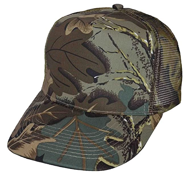 Image Unavailable. Image not available for. Color  NIS Camouflage Mesh  Trucker Baseball Cap Olive ... e82d2f9b658