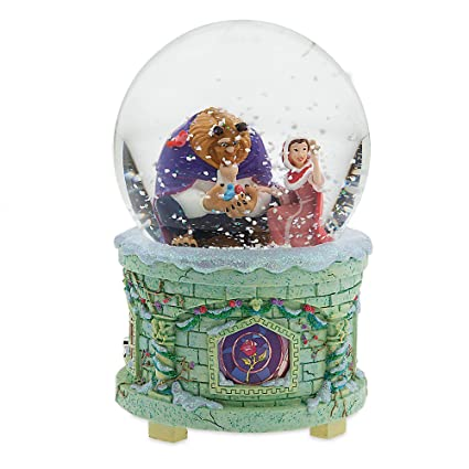 Snow Globe Beauty And The Beast By Disney