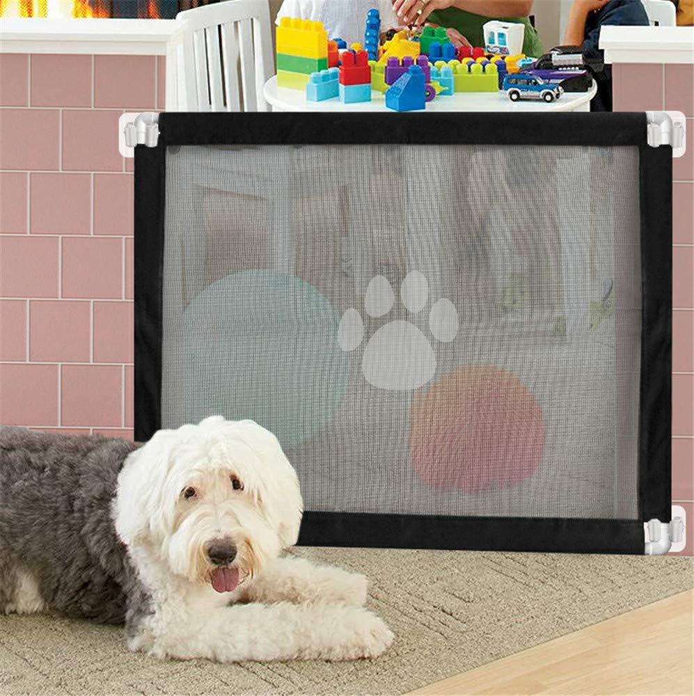 Magic Gate for Dog,Strong Pet Gate Portable Folding Safe Guard Install Anywhere for Pet Safe,Pet Isolation Fence Net by Y&Z (Image #7)