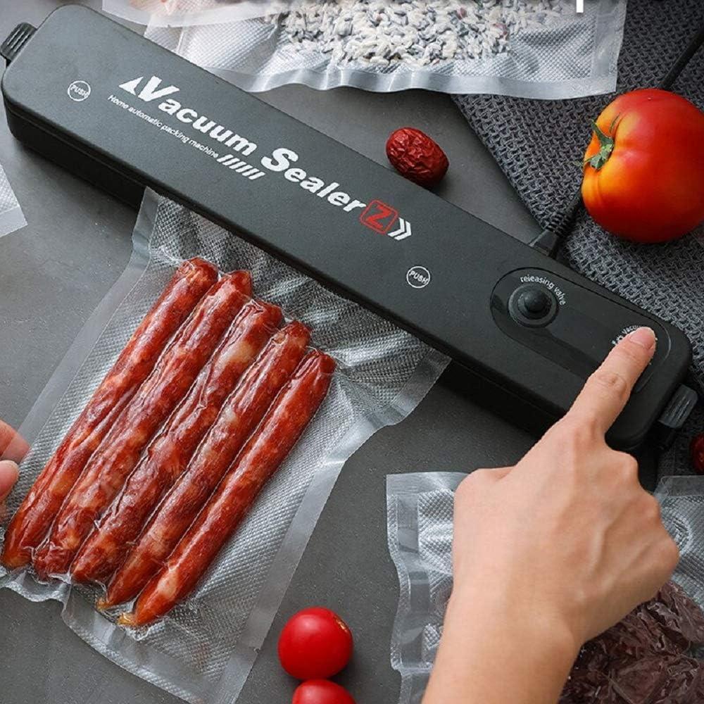 Vacuum Sealer Machine, Automatic Food Sealer for Food Savers Household Black Food Vacuum Sealer