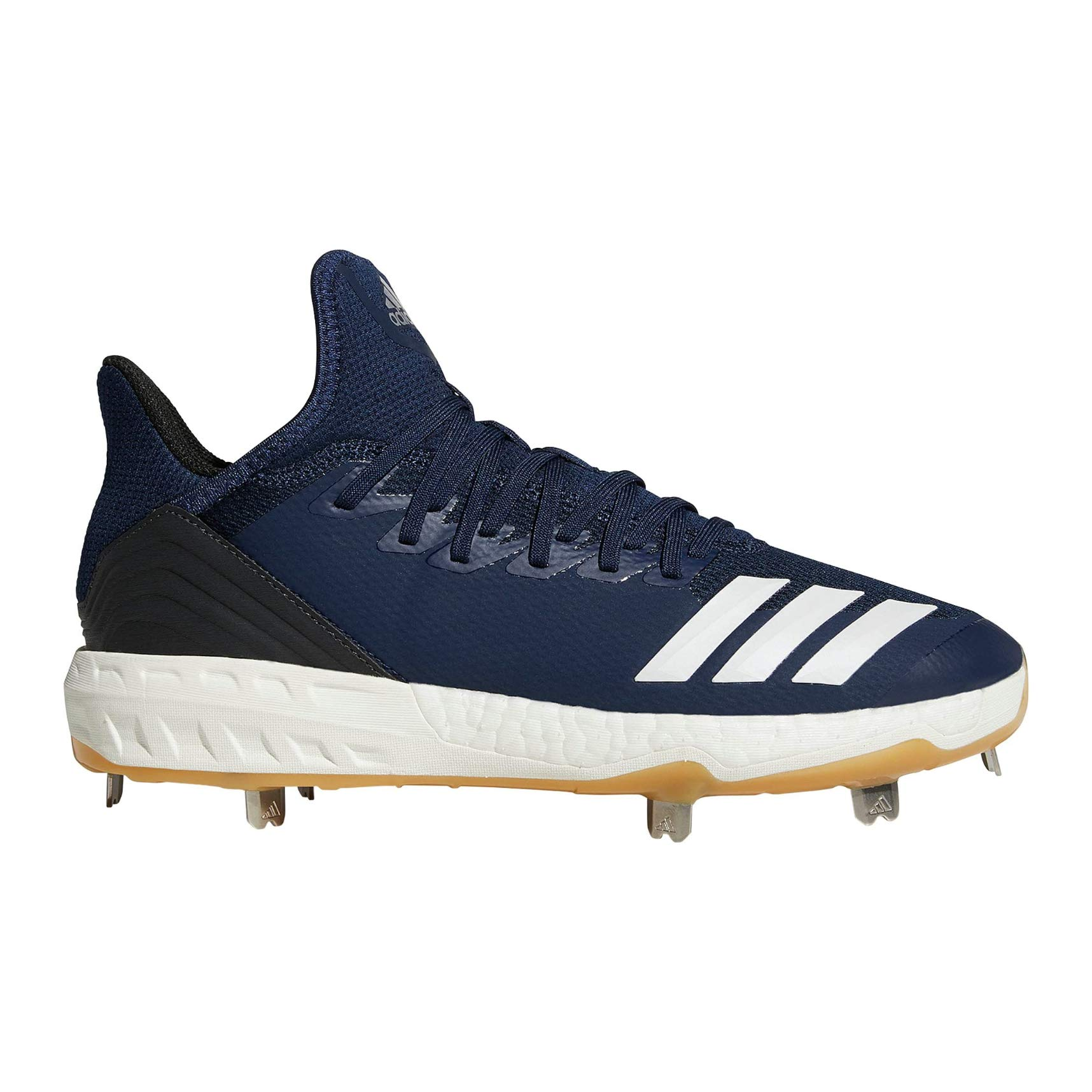 adidas Icon 4 Cleat - Men's Baseball 7 Collegiate Navy/White/Black by adidas (Image #1)