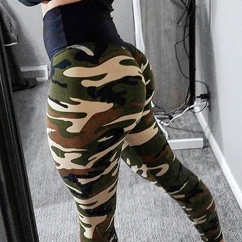 4a024376c06c2f Amazon.com: Kanzd Women Pants Women's Fashion Workout Leggings Fitness  Sports Gym Running Yoga Athletic Pants: Clothing