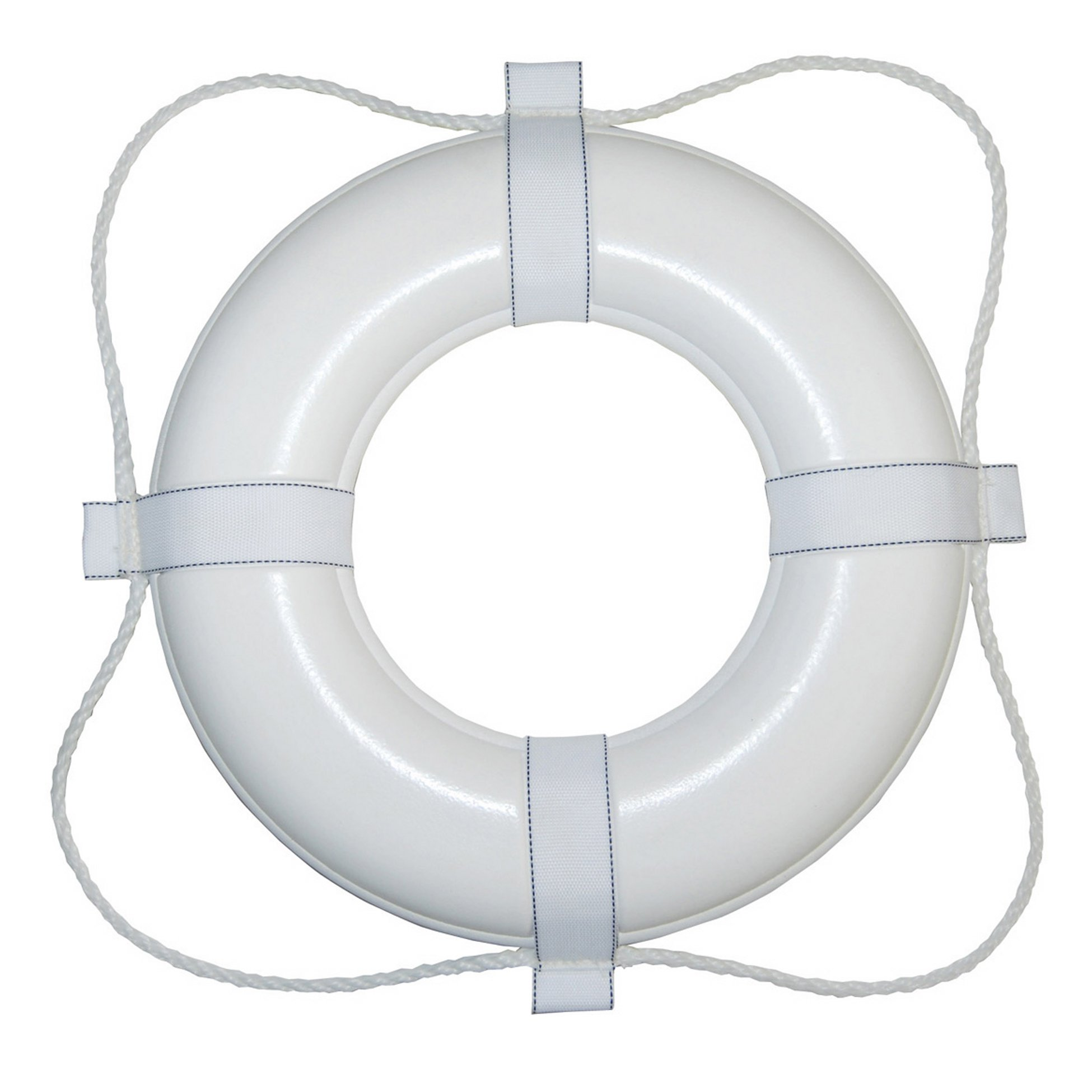 Taylor Made Products 360 20-Inch Polyurethane Foam Marine Life Ring with Grab Lines-White by TAYLOR MADE PRODUCTS