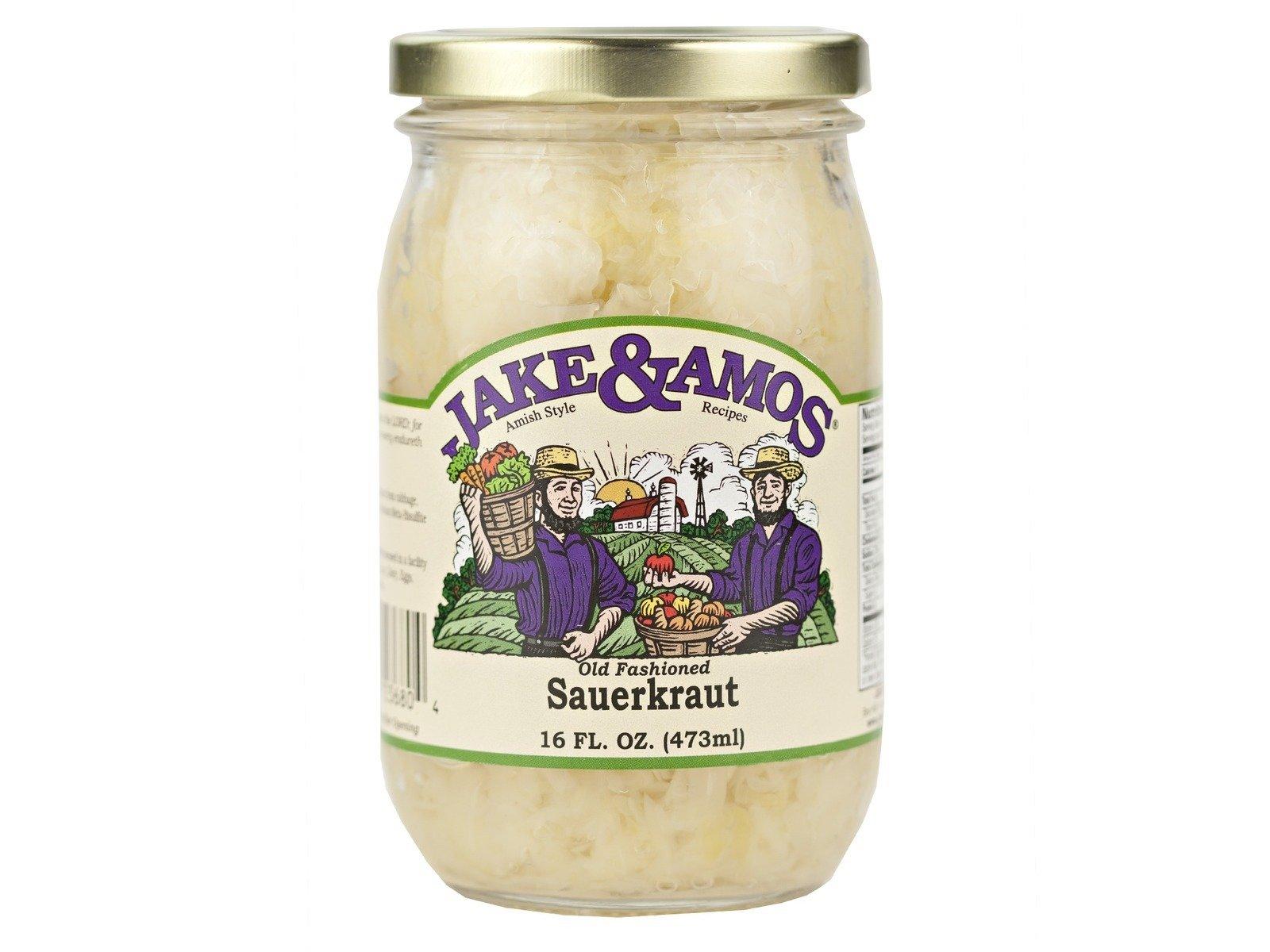 Sauerkraut 3 jars: Jake and Amos