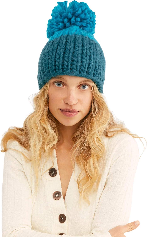 Premade Crochet Strawberry Kiwi Pop cupcake Child sized beanie hat with ribbed edge and green pom pom