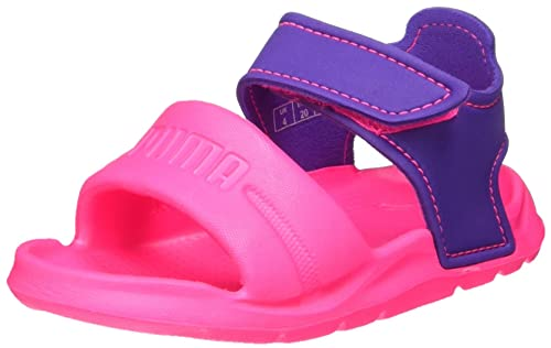 69dbb0cded4fcd Puma Unisex-Kinder Wild Sandal Injex Inf Low-Top Knockout pink-Electric  Purple