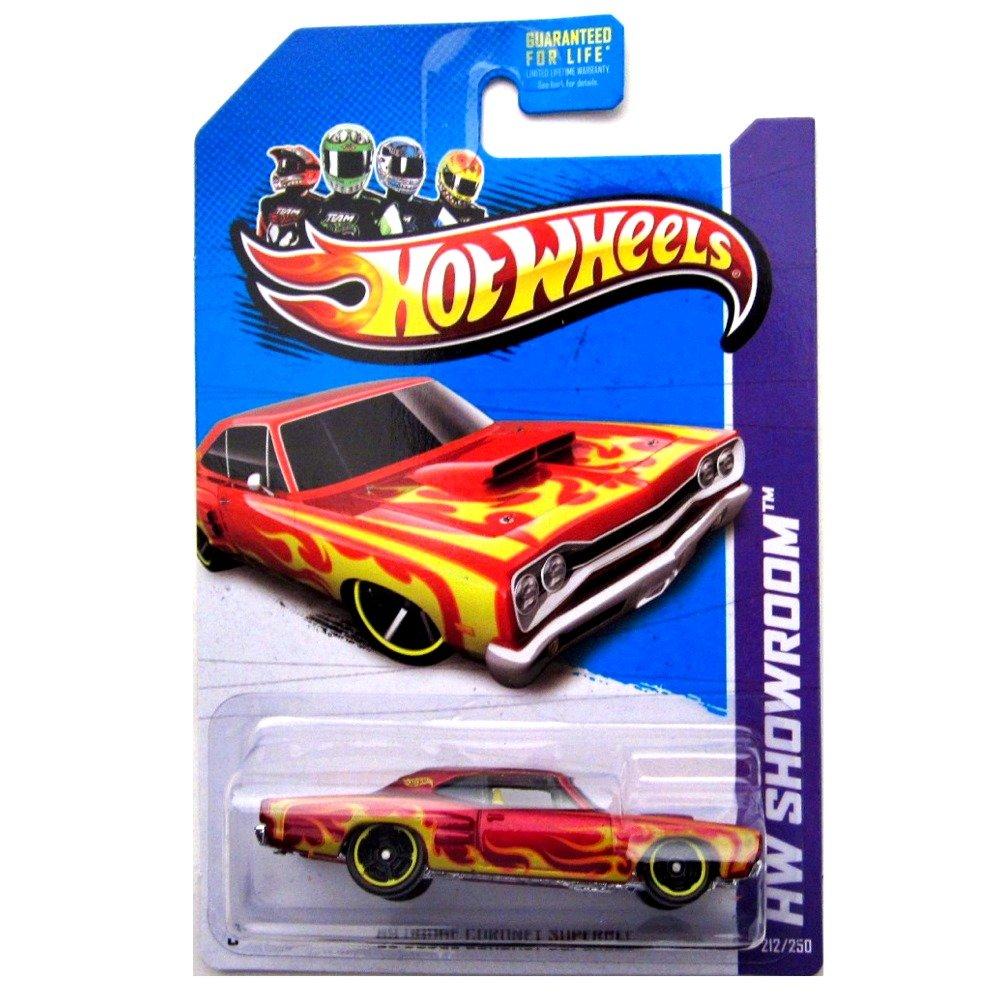 094//250 1:64 Scale Die-Cast Vehicle * Short Card Package * Hot Wheels 2016 HW FLAMES SERIES 69 DODGE CORONET SUPERBEE 04//10